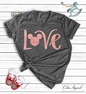 3454337db Love Shirt, Family Trip Vacation T-Shirts, Love Tank Tops Women's Cute  Graphic