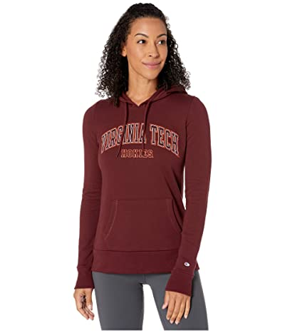 Champion College Virginia Tech Hokies Eco(r) University Fleece Hoodie (Maroon) Women