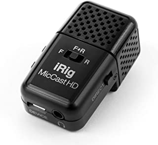IK Multimedia iRig Mic Cast HD Pocket-Sized Microphone for iPhone, iPad, and Android Devices