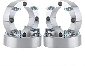 OrionMotorTech 4x156 Wheel Spacers with 12x1.5 Studs, Compatible with 2013+ Polaris Ranger, 2014+ Polaris RZR XP 1000, 2015+ Polaris RZR Trail 900, 900 XC and RZR High Performance S 900