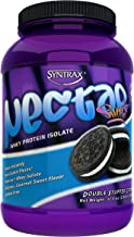 Syntrax Nectar Sweets 907 g Double Stuffed Cookie Whey Protein Isolate Drink Powder Estimated Price : £ 43,96