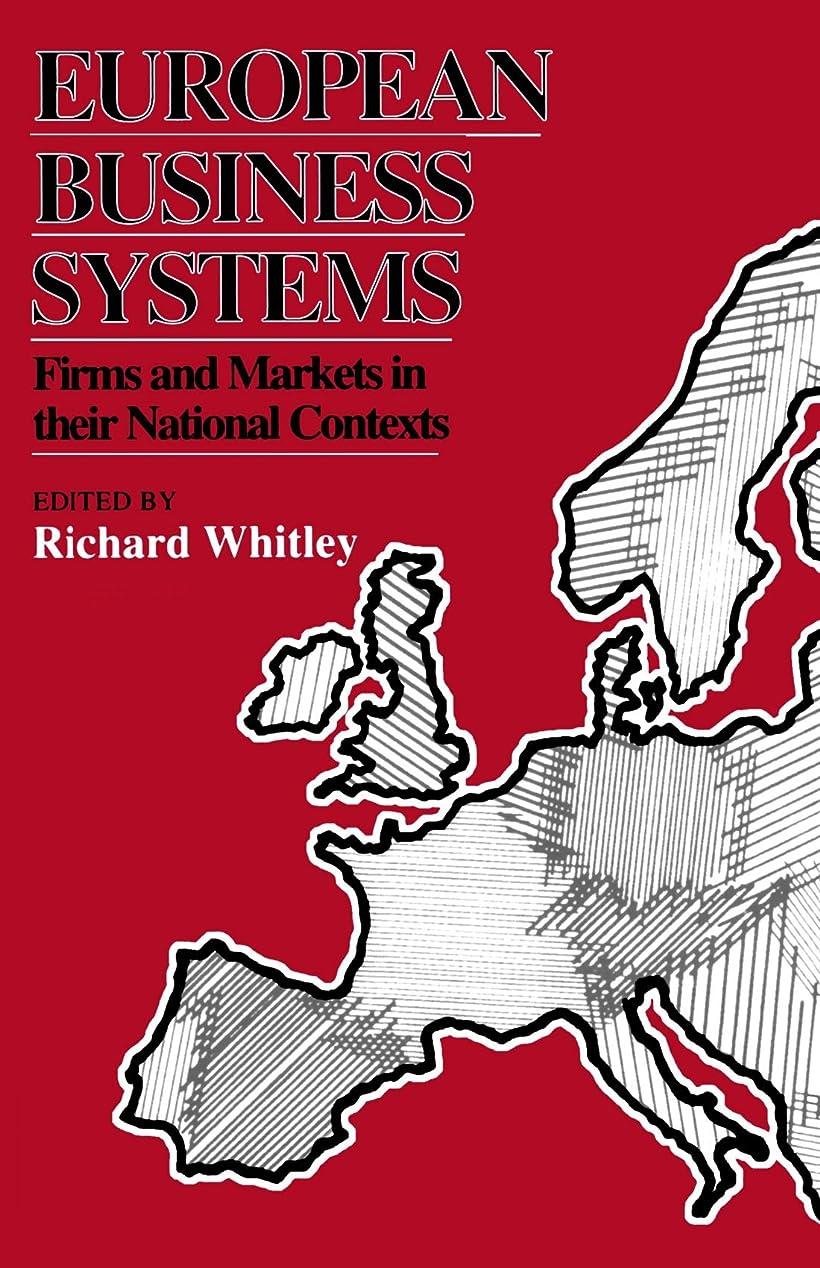 自転車小道包帯European Business Systems: Firms and Markets in Their National Contexts