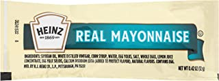 Heinz Mayonnaise Single Serve (0.4 oz Packets, Pack of 200)