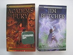 set of 2: The Codex Alera: Book one - Furies of Caderon, Book two - Academ's Fury