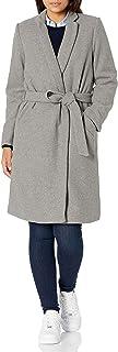Daily Ritual Abrigo de Lana con cinturón Chaqueta para Mujer