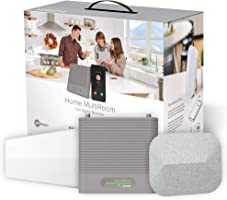 weBoost Home MultiRoom - Cell Phone Signal Booster   Boosts 4G LTE & 5G up to 5,000 sq ft for all U.S. Carriers -...