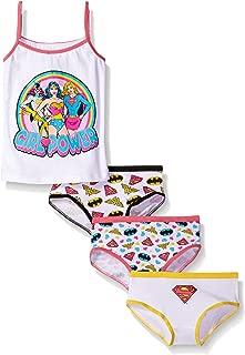 Girls' Girl Power 3 Pk Underwear and Tank Set