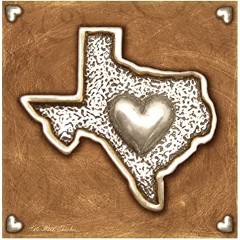 Thirstystone 4-Piece Texas Love II Coaster Set