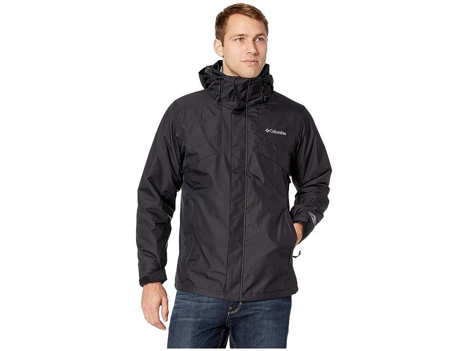 Columbia Bugabootm II Fleece Interchange Jacket (Black/Charcoal Heather) Men