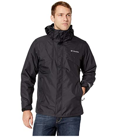 Columbia Bugabootm II Fleece Interchange Jacket (Black/Charcoal Heather) Men