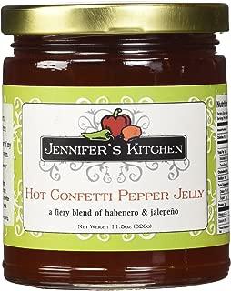 Jennifer's Kitchen Pepper Jelly, Hot Confetti