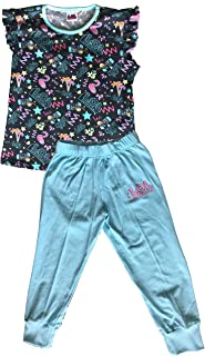 E-Fashion Conjunto de Pijama para niña de LOL (L.O.L. Surprise) cómoda para Dormir. Pantalón y Blusa.