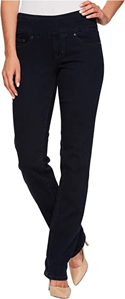Jag Jeans Peri Pull-On Straight in After Midnight
