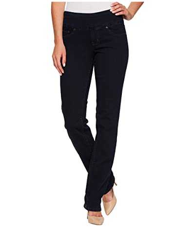 Jag Jeans Peri Pull-On Denim Straight Leg Jeans (After Midnight) Women