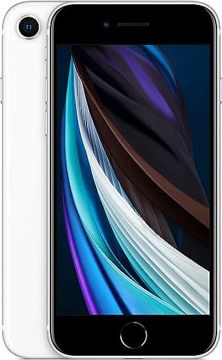 Apple iPhone SE, 64GB, White - Fully Unlocked (Renewed)