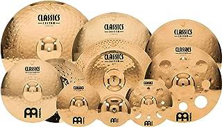 Meinl Cymbals CC4680-TRB Classics Custom Pack Triple Bonus Cymbal Box Set with FREE 8