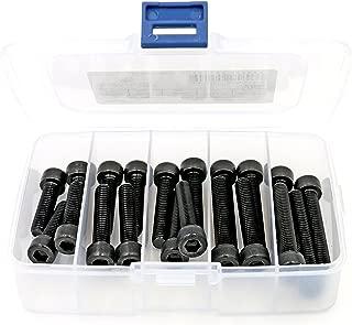 65mm 80mm 12.9 Grade Alloy Steel Half Thread Hex Socket Head Cap Screws Bolts Assortment 70mm Black Oxide Finish iExcell 50 Pcs M3 x 60mm 75mm