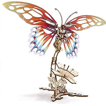 Mechanical UGEARS Wooden 3D Puzzle Model Butterfly Construction Set