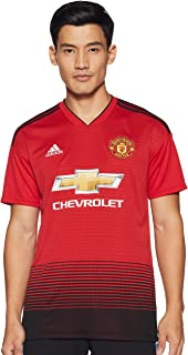 adidas Mens Manchester United Home Jersey (Short Sleeve)