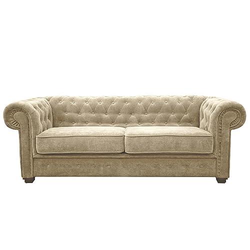 Fabric Chesterfield Sofa Amazon Co Uk