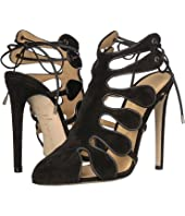 CHLOE GOSSELIN - Calico Calf Suede Closed Toe Heel