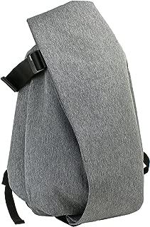 cote&ciel Unisex Isar Large Eco Yarn Backpack Black Melange One Size