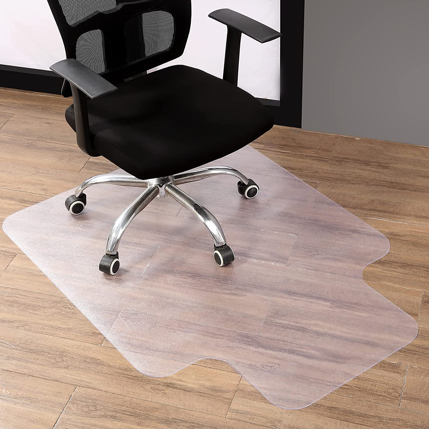 Wholesale Our shop most popular Office Clear Chair Mat for Floo Hardwood Floor Home Transparent
