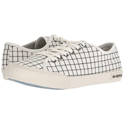 SeaVees Monterey Embroidery (White Windowpane) Women
