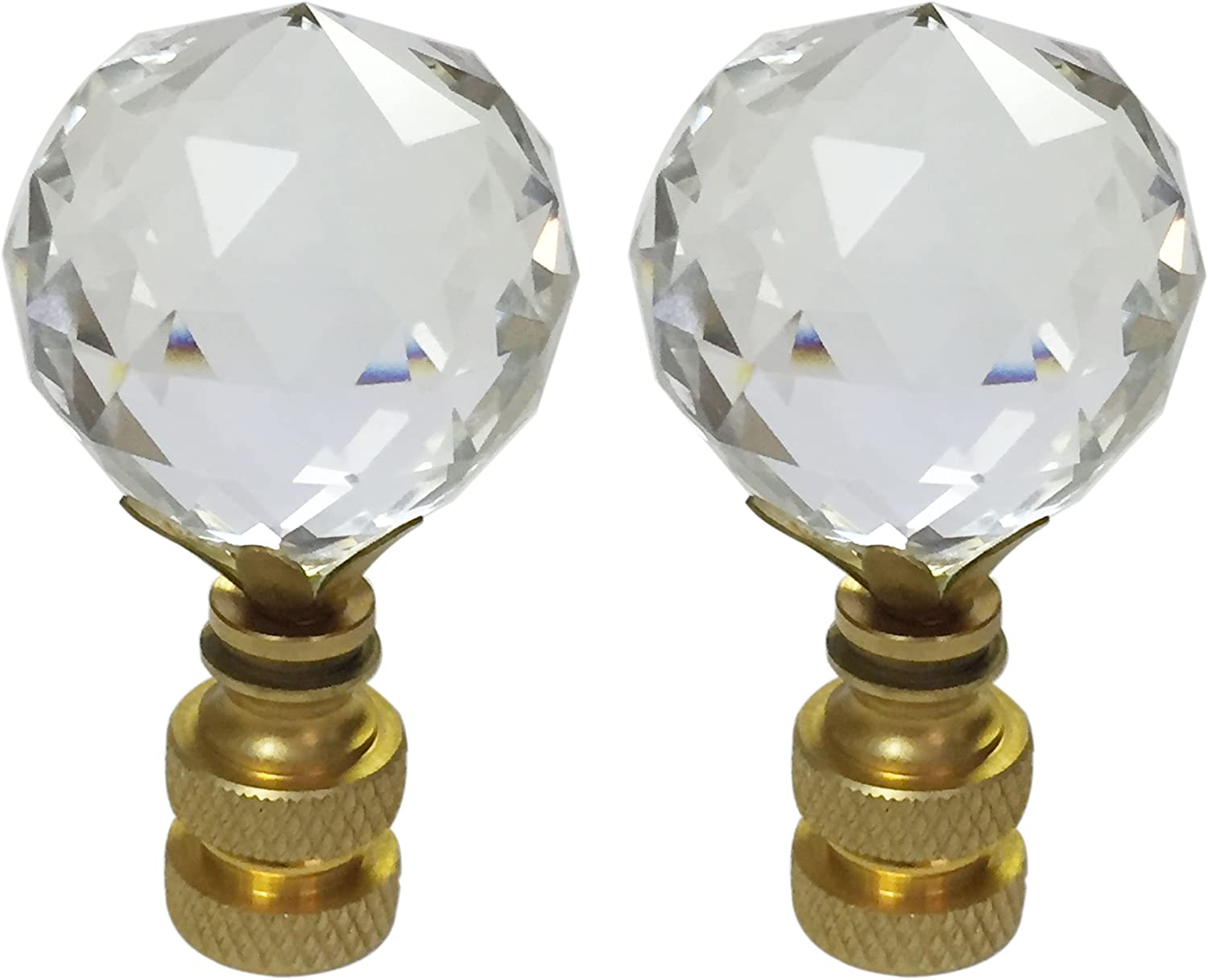 Royal Designs Max 66% OFF Large Faceted Diamond Cut Crystal L Popular brand in the world K9 Clear 1.75