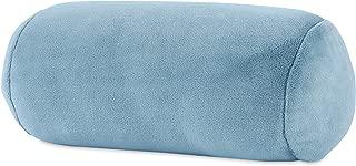 Berkshire Blanket Serasoft Plush Neckroll Removable Easy to Wash Cover Throw Pillow, Arona