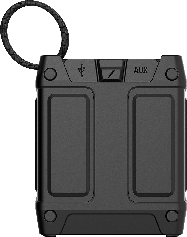 Skullcandy Shrapnel - Altavoz portátil (Recargable, con Bluetooth, Resistente a los Golpes ya la Humedad)
