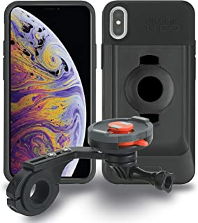 Tigra Sport FitClic Neo iPhone XR Self-Locking Magnetic Bike Forward Mounting System with Phone Case and Adjustable Mount