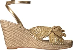 Gold Pleated Lame