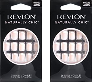 Revlon Naturally Chic Nails, Audrey - Pack of 2