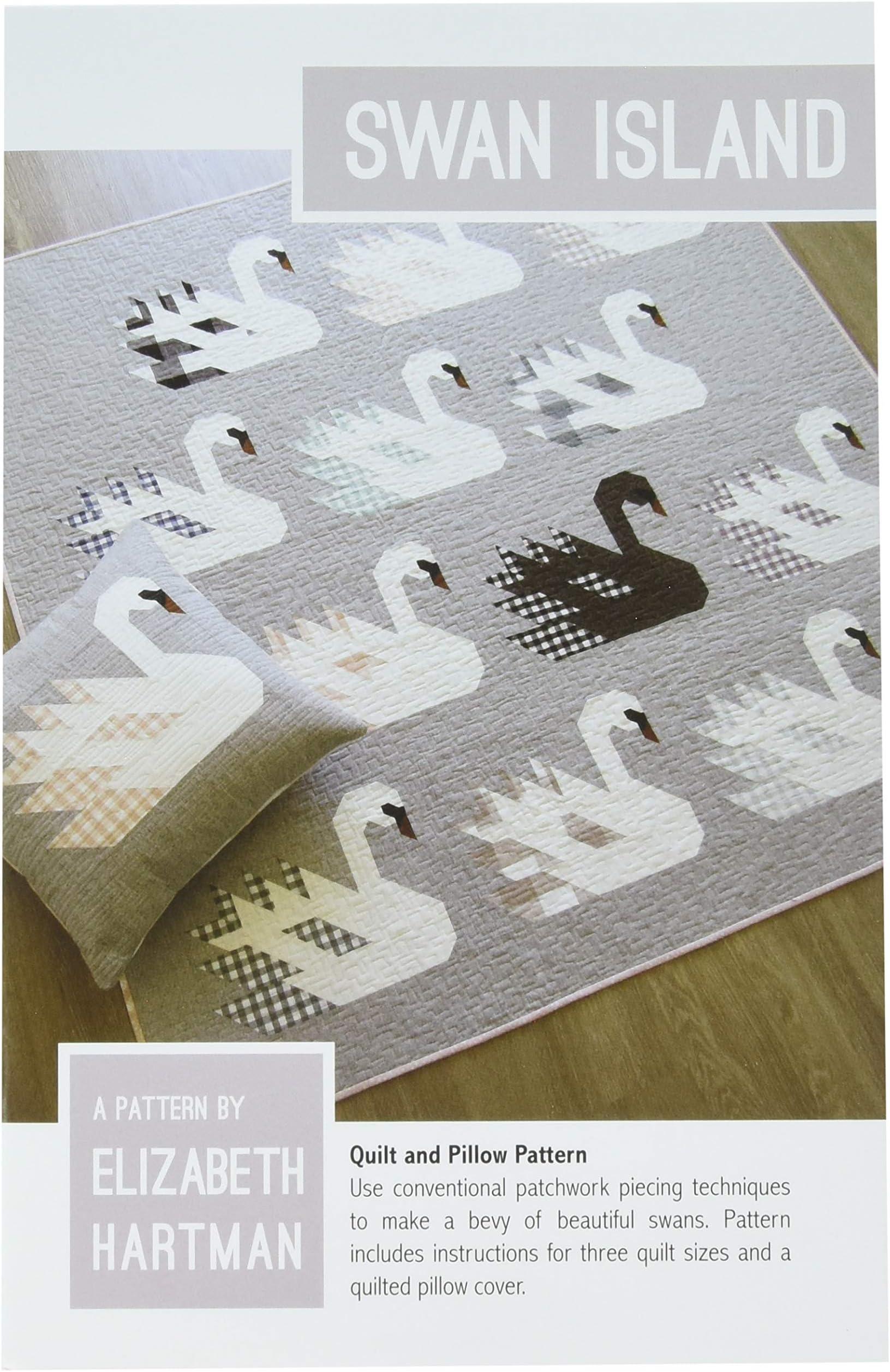 SWAN ISLAND    *A Pieced Quilt Pattern* By Elizabeth Hartman  EH-042