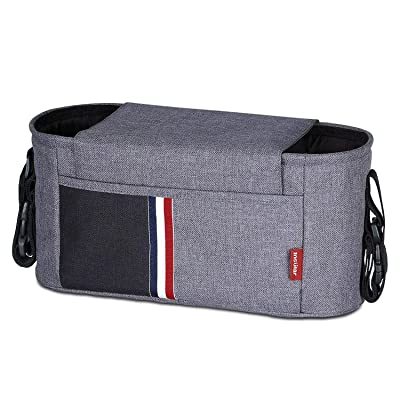 Universal Stroller Organizer Bag with 2 Cup Hol...