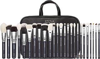 ZOEVA Makeup Artist Zoe Bag Makeup Brush Set - Includes 25 Face and Eye Makeup Brushes