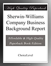 Sherwin-Williams Company Business Background Report