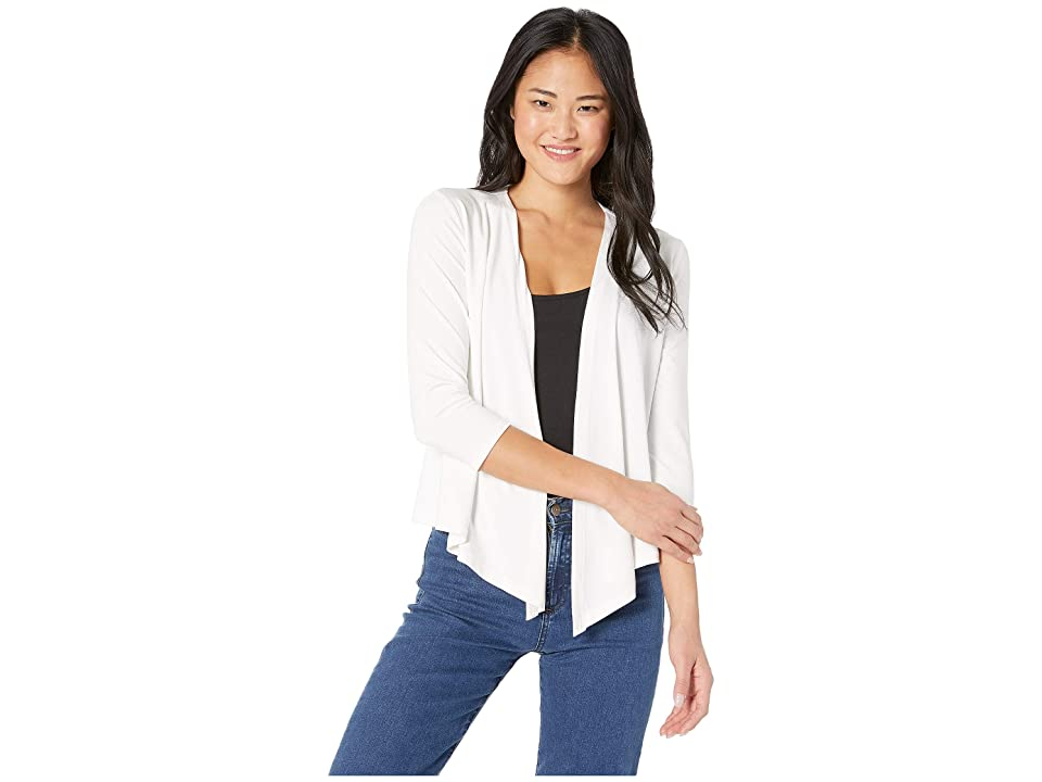 NIC+ZOE Ease Four-Way Cardy (Paper White) Women's Clothing