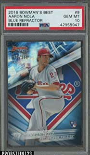 aaron nola rookie card