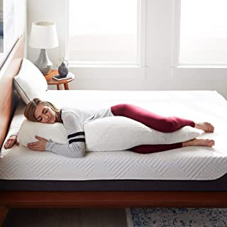 LUCID Shredded Memory Foam Full Body Pillow – Side Sleeper – Hypoallergenic – Perfect for Pregnancy – Ultra Soft Rayon from Bamboo Cover