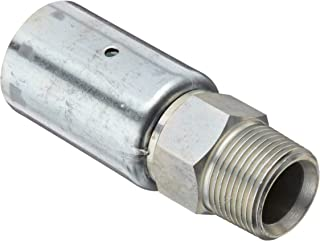 Dixon 3//8 x 3//8 NPT Hex Nipple KHN332 for 2 Clamps Plated Steel