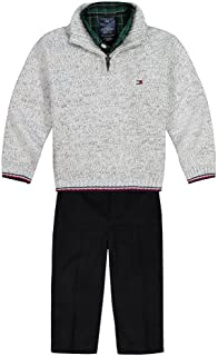 Baby Boys 3-Piece Pullover Sweater, Button-down Shirt,...