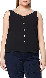 Vero Moda VMSASHA SL BUTTON TOP NOOS dames shirt