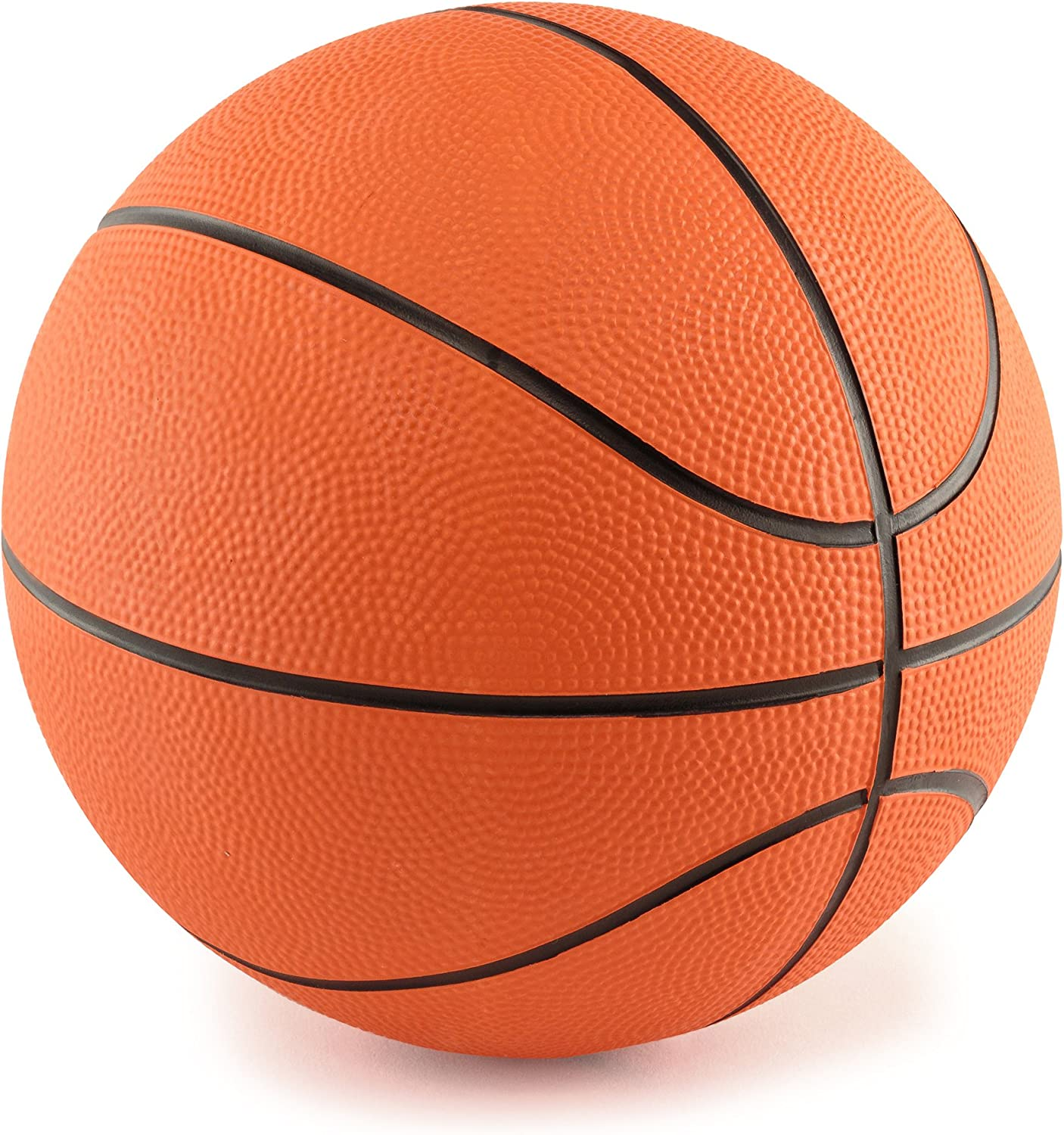 Edgewood Toys 5-Inch Mini Rubber Basketball Indoor/Outdoor Use.
