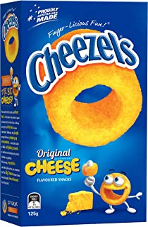 Cheezels Cheese, 12 x 125g