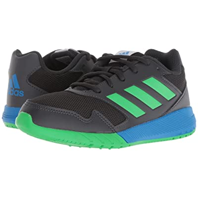 adidas Kids AltaRun (Little Kid/Big Kid) (Carbon/Vivid Green/Bright Blue) Boys Shoes
