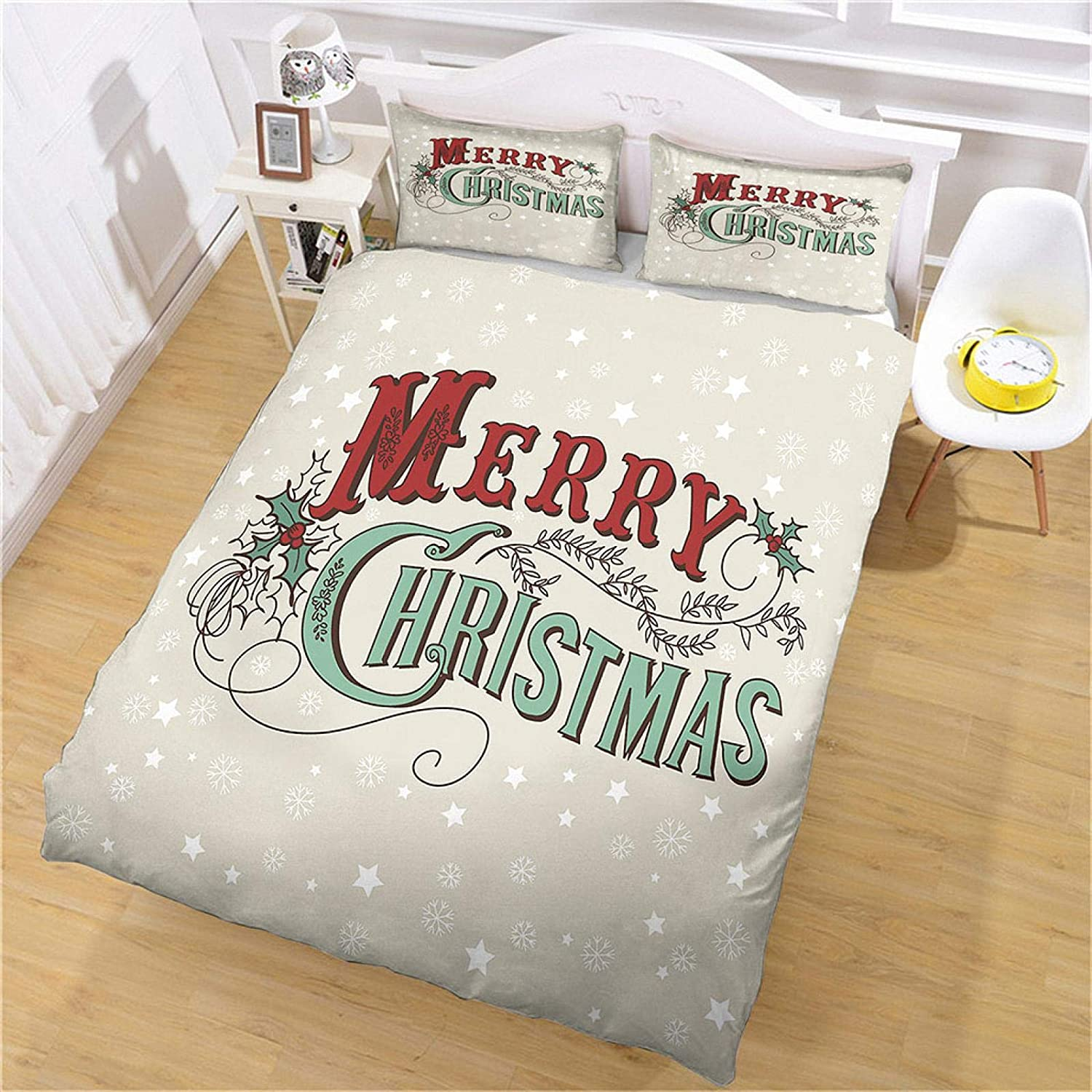 40% New Orleans Mall OFF Cheap Sale MENGBB Duvet Cover Set 3D Effect Star Printing 53