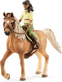 Schleich Horse Club, 4-Piece Playset, Horse Toys for Girls and Boys 5-12 years old Sarah and Mystery