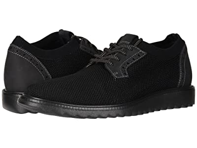 Dockers Einstein Knit/Leather Smart Series Dress Casual Oxford with NeverWet (Black Knit/Nubuck) Men